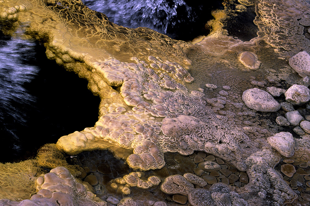 Heet waterbronnetje, Hveravellir, IJsland