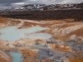 Krafla, vulkaanlandschap