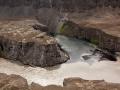 18. Kruising gletsjerwater en regenwater
