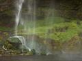 Sellalandfoss, detail waterval
