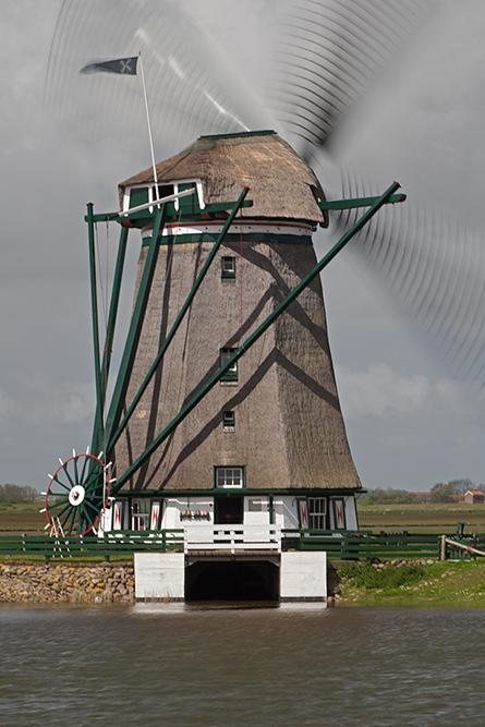 De molen bij Oost, Texel