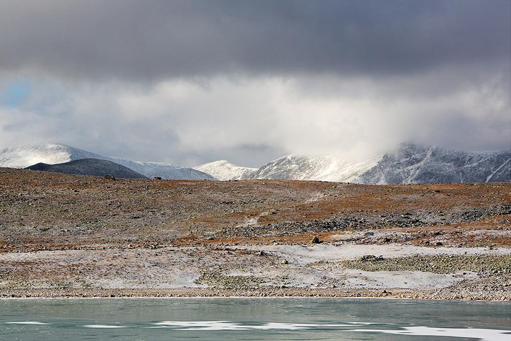 Bevroren meer, Snohetta, Dovrefjell