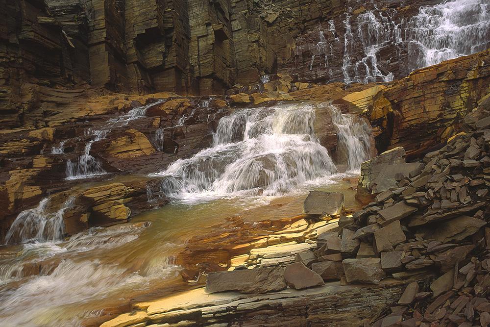 Waterval bij Sulitjelma
