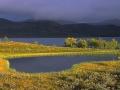 Avondmeer, Zweeds Lapland