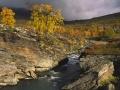 Herfstrivier, Silvervagen, Zweeds Lapland