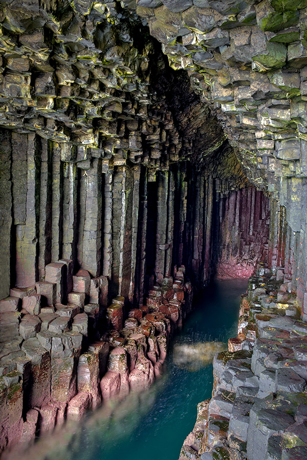 Fingal's Cave, Eiland Staffa, Hebriden