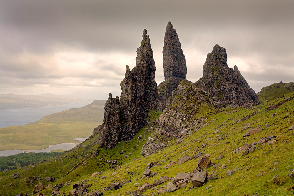 Old Man of Storr, eiland Skye
