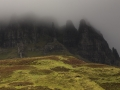 Spooky mountains, Skye